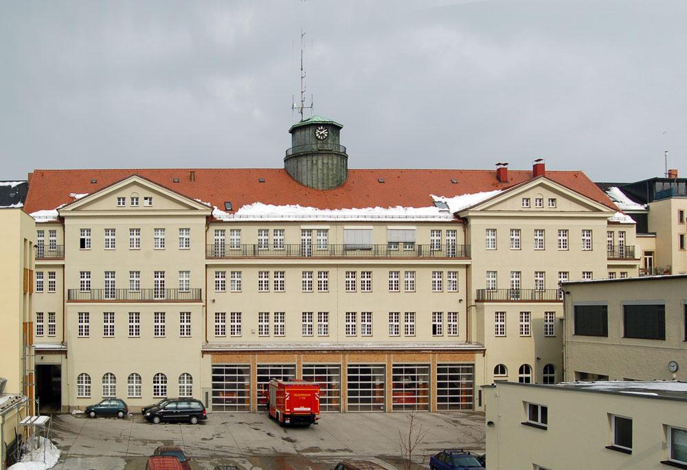 Feuerwachen Passivhaus Dresden Reiter Architekten Gmbh
