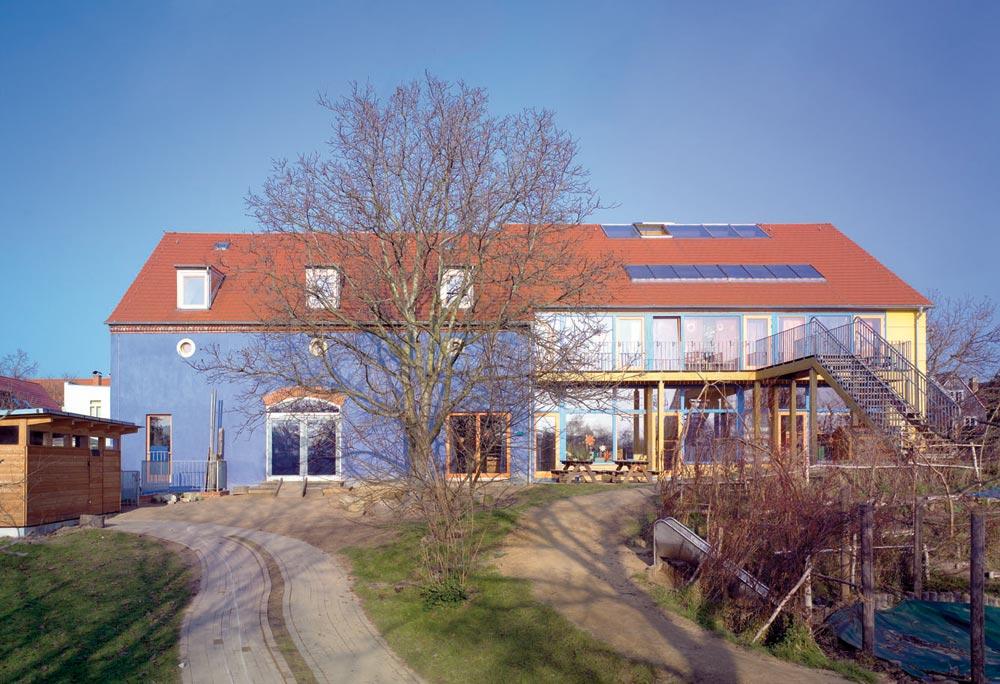 Okologischer Kindergarten Passivhaus Dresden Reiter Architekten